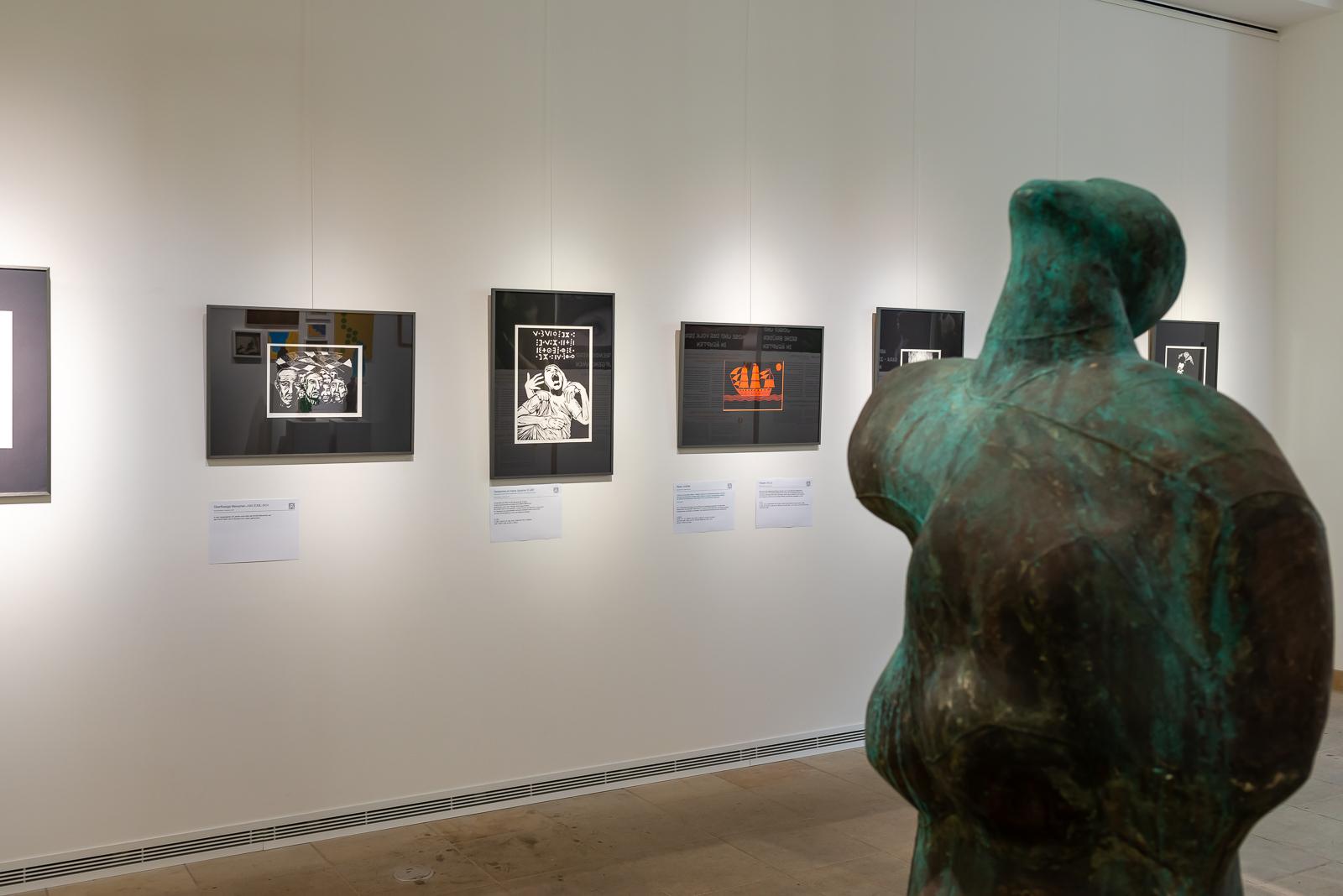 Moussa Mbarek, Ausstellung Haus der Kirche