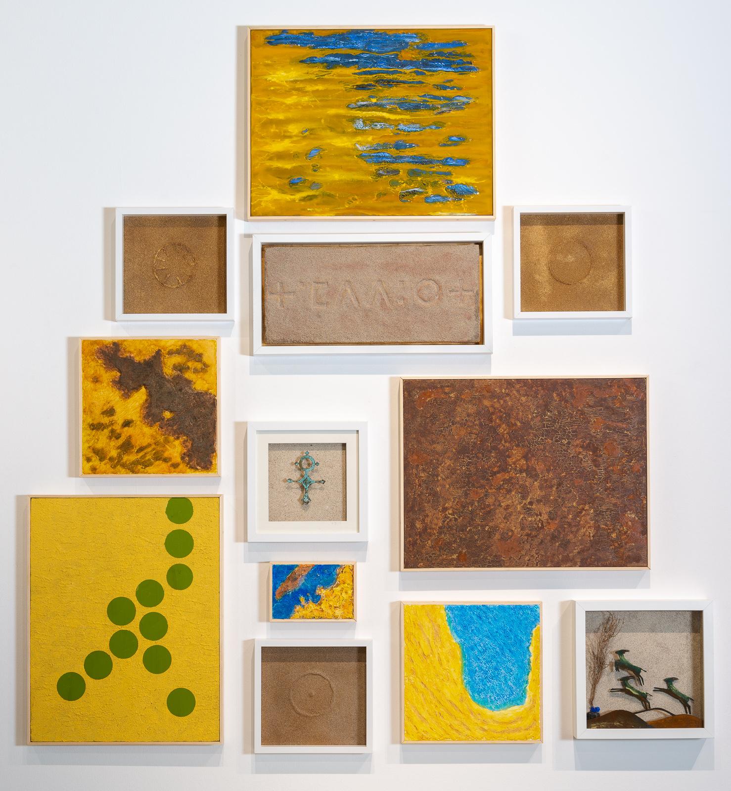 Moussa Mbarek, Farben der Wüste
