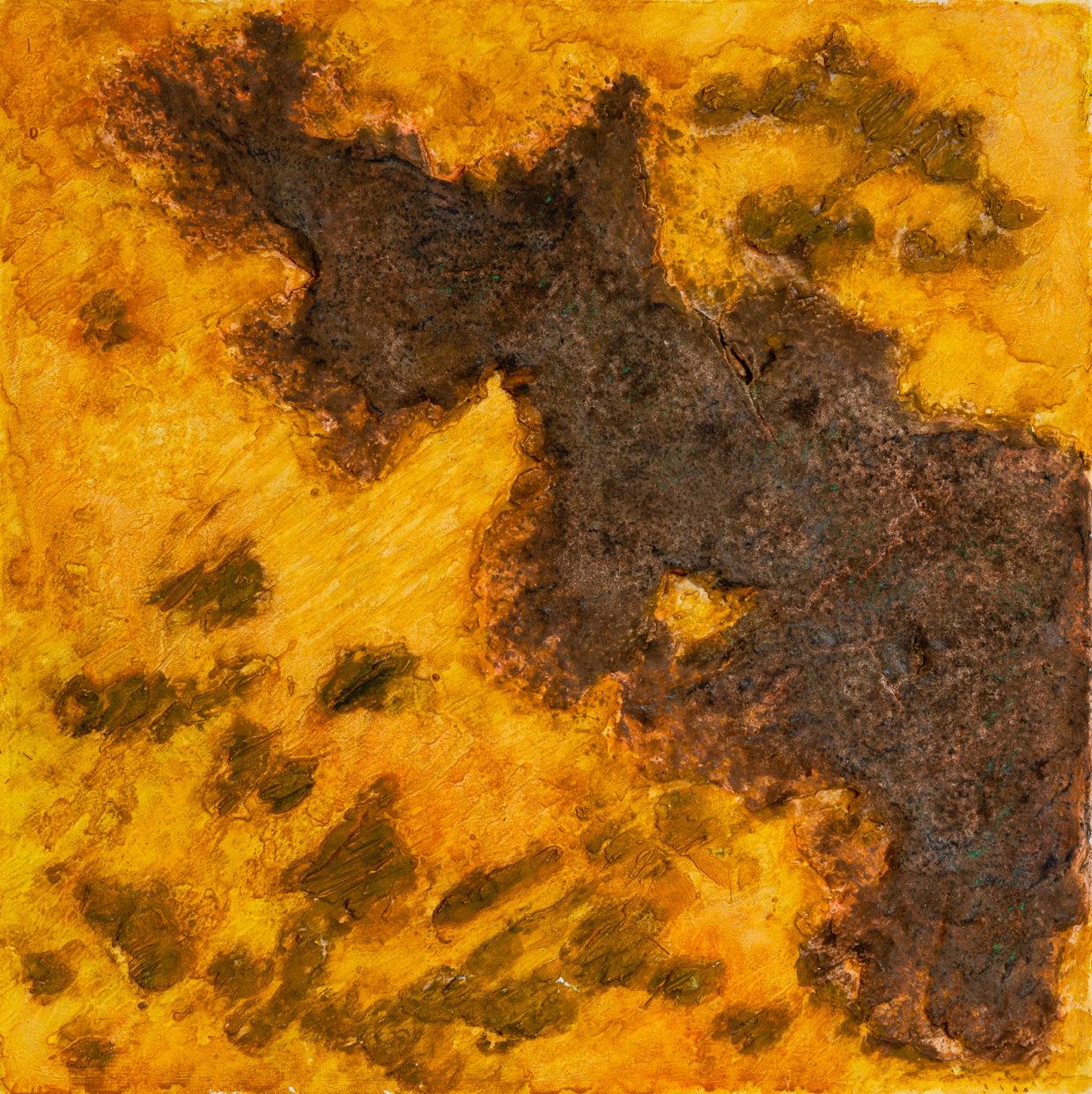 Moussa Mbarek, Farben der Wüste - Berge