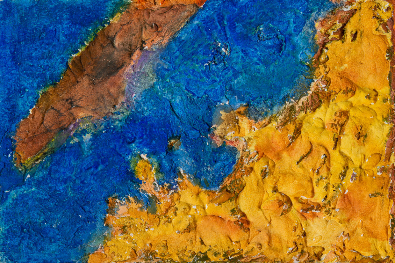 Moussa Mbarek, Farben der Wüste - Meer