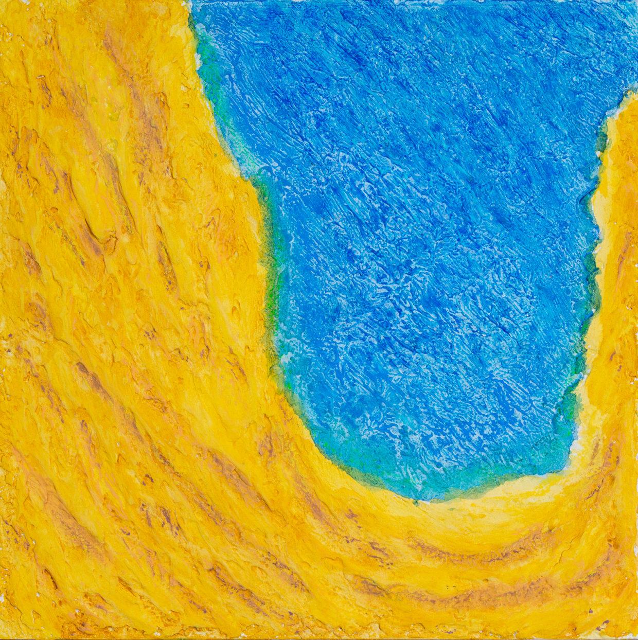Moussa Mbarek, Farben der Wüste - See