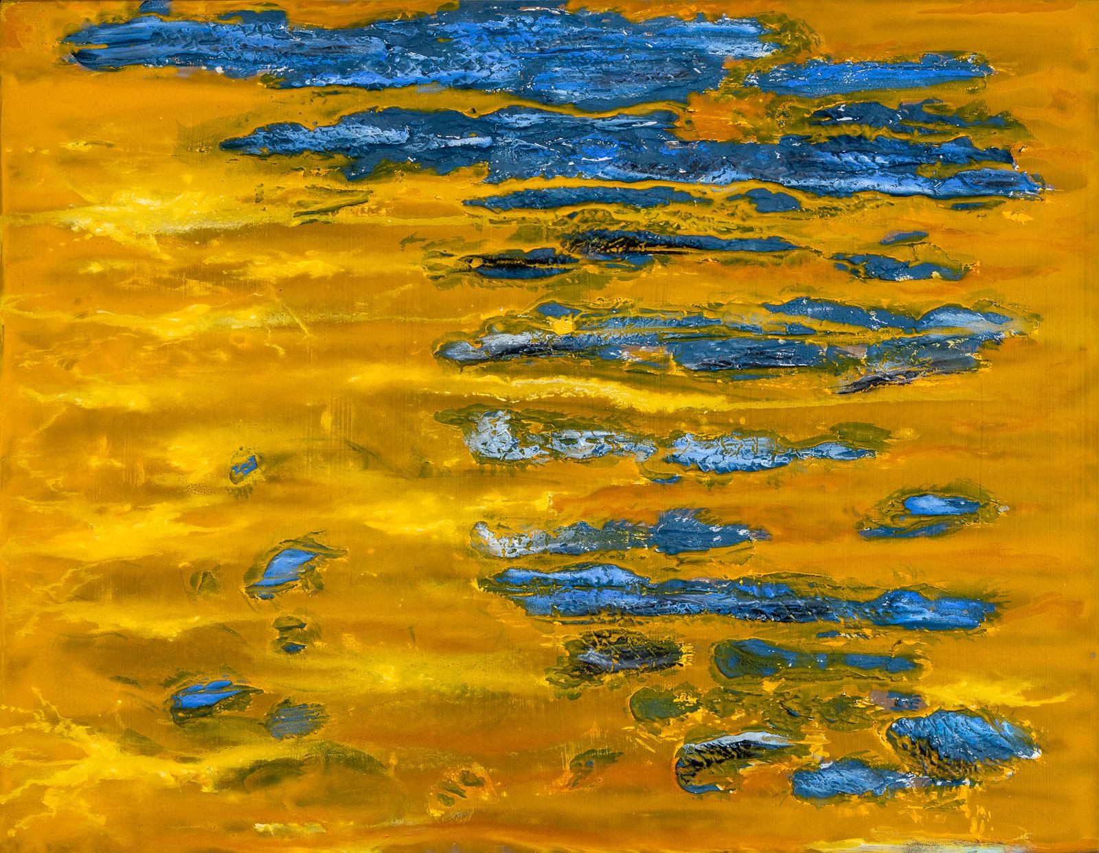 Moussa Mbarek, Farben der Wüste - Wind